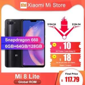 [29.11] Xiaomi Mi 8 Lite 6/64 за $117,79