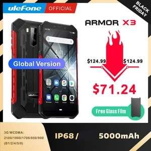 Защищенный cмартфон Ulefone Armor X3 2+32GB 5000mAh за $71.24
