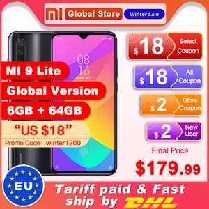 Xiaomi Mi 9 Lite 6/ 64 Глобальная версия