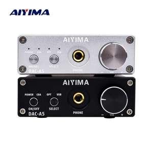 AIYIMA DАC-A5 Внешний USB ЦАП начального уровня