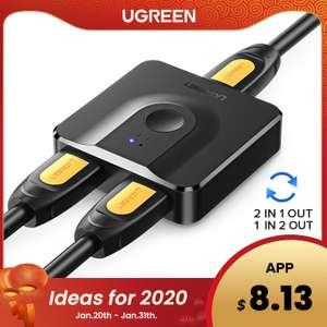 HDMI переключатель Ugreen CM217