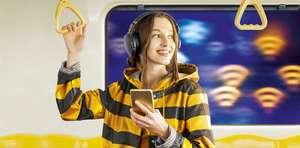 Wi-fi в метро без рекламы на 6 месяцев для абонентов Билайн