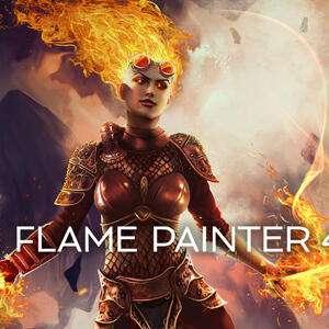 [Win/Mac] Flame Painter 4 (софт для рисования и обработки изображений)
