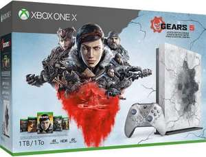 Xbox One X (1TB) Gears 5 Limited Edition + 5 игр (Xbox Live 1 мес, Game Pass 1 мес)