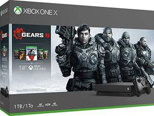 Microsoft Xbox One X 1 ТБ   Gears 5 Ultimate-издание Gears of War Gears of War 2, 3 и 4