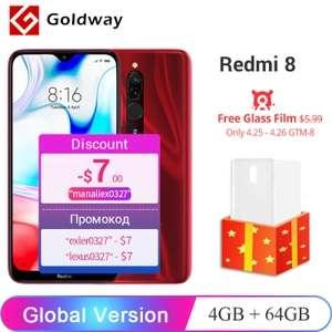 Redmi 8 4/64 + защитное стекло