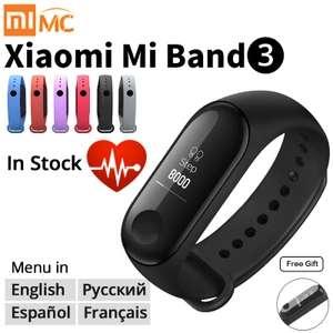 Xiaomi MI Band 3 за 10.07$ или 14.5$ за 2шт.