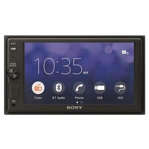 Сенсорная магнитола Sony XAV-AX1000 с поддержкой Apple CarPlay