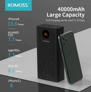 Внешний аккумулятор ROMOSS Zeus 40000mAh Power Bank
