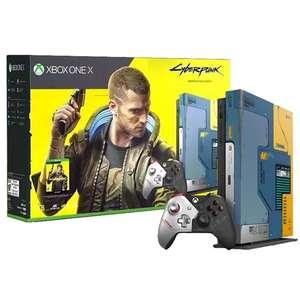 Игровая консоль Xbox One Microsoft X 1TB Cyberpunk 2077 Limited Edition