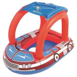 -25% доп. на товары для отдыха на воде и др. (например, лодочка с тентом Bestway пожарная машина 34093, 81х58 см)