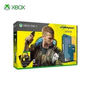 Консоль Xbox One X ограниченной серии и игра Cyberpunk 2077 (1 ТБ)