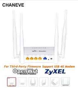 Роутер CHANEVE MT7620N Padavan/Omni II/OpenWRT/OS с прошивкой для 3G 4G USB модема