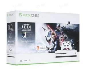 Игровая приставка Microsoft Xbox One S White 1 TB + 1 игра