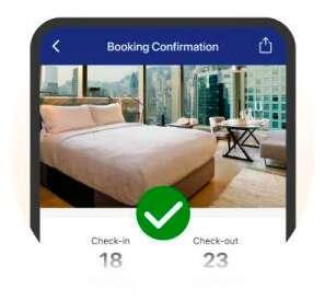 Booking дарит 800 бонусных рублей на путешествия