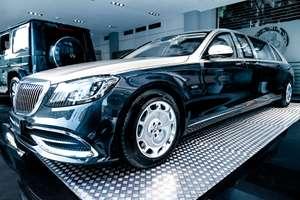 Mercedes-Benz S-Класс VI W222/C217 Рестайлинг , Седан, 2018 в avilon (двигатель 5980 см3, 630 л.с., бензиновый, автомат, задний привод)
