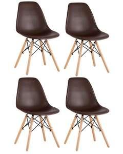 Комплект стульев Eames Style DSW BOX, 4 шт.