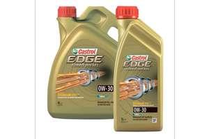 Моторное масло CASTROL EDGE TURBO DIESEL 0W-30 синтетическое, 5 л