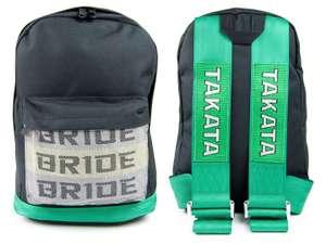 Рюкзак JDM Bride Sparco/TAKATA Exhaust Wear [цена для авторизированных пользователей]