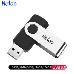 Флеш-накопитель Netac 128Gb USB 3,0