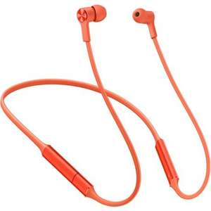 Беспроводные наушники Huawei Bluetooth FreeLace CM70, Orange