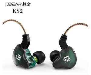 Гибридные наушники KBEAR KS2 1BA + 1DD