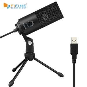 Микрофон Fifine K669 (конденсаторный)