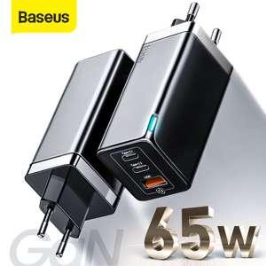 GaN зарядное устройство Baseus 65W