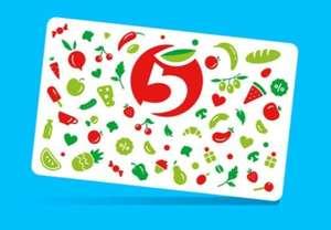 500 баллов на Выручай-карту Пятерочка при заказе на Joom