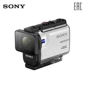 Экшн-камера Sony FDR-X3000 со съёмкой 4K в комплекте с аквабоксом