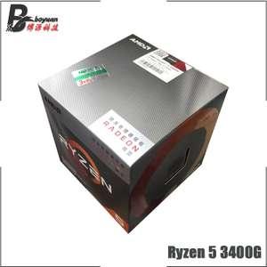 Процессор RYZEN 5 3400G (BOX)
