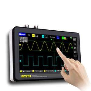Планшетный двухканальный осциллограф Daniu ADS1013D 100MHz 1GSa/s частота выборки (предзаказ)