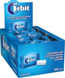 Жевательная резинка Orbit Сладкая мята, 300 шт по 1,36 г