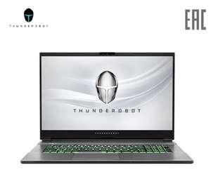 Ноутбук игровой Thunderobot 911 Plus 17.3''/Intel i7-10750H/8Gb/512Gb SSD/NVIDIA GTX1650Ti 4G GDDR6/noDVD/Dos Black