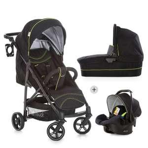 Детская коляска 3 в 1 Hauck Rapid 4S Plus Trioset (люлька + прогулка + автокресло)