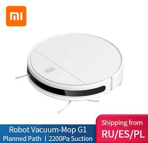 Робот-пылесос с влажной тряпкой Xiaomi Mijia G1 с доставкой из РФ