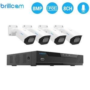 Комплект видеонаблюдения (4 ip камеры + ресивер)