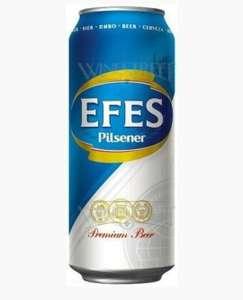 Пиво «Efes Pilsener» вжестяной банке, 0.45л