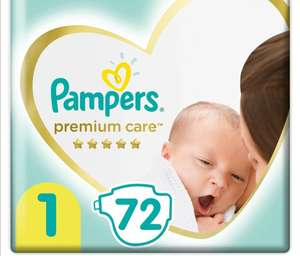 Pumpers Premium Care, 2-5 кг 72 шт