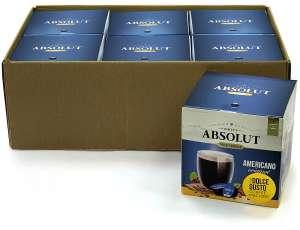 Кофе Drive Absolut эспрессо для капсульных кофемашин Dolce Gusto, 96 капсул (цена одной пачки по акции 1+1=3)