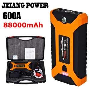 Автомобильный Jump Starter Power 88000mAh (600А/12В/4USB) за $ 45.83