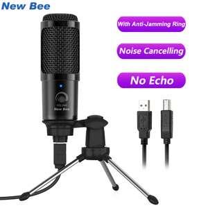 Конденсаторный USB-микрофон New Bee NB-DM18