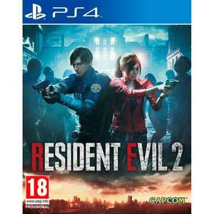 Скидки на диски для PS4 (например, Resident Evil 2)
