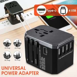 Адаптер-зарядное устройство на 4 USB порта