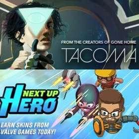 Tacoma и Next Up Hero бесплатно
