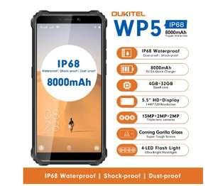 Смартфон OUKITEL WP5 4+32 Гб, 8000 мАч, IP68