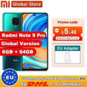 Redmi Note 9 Pro 6 ГБ 64 Гб