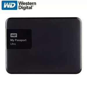 Внешний жёсткий диск Western Digital My Passport Ultra 1 ТБ.