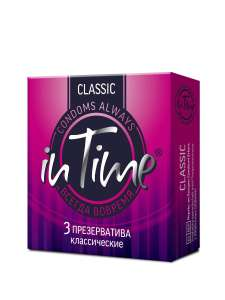Презервативы in time classic 1+1
