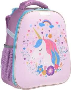 Ранец школьный для девочки №1 School Basic Единорог